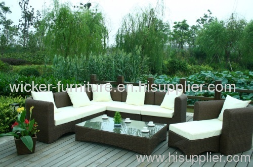 Outdoor Patio Rattan Furniture sofa sets