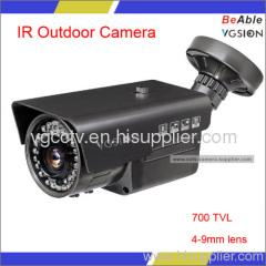 680TVL IR vari-f Outdoor Ccd Camera Waterpoof Network Camera