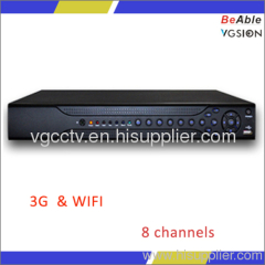 8 channels playback simultaneously DVR