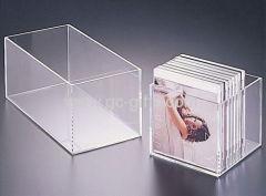 Cheap clear acrylic CD box