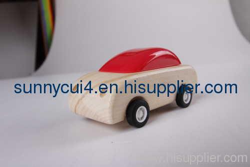 pull-back moto wooden toys