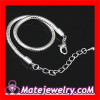 Wholesale Brand New Designer 19CM european Snake Chain Bracelet