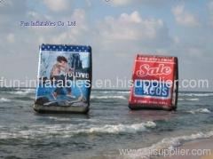 inflatable water billboard/inflatable billboard