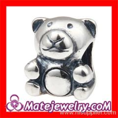 european Teddy Bear Charm Beads