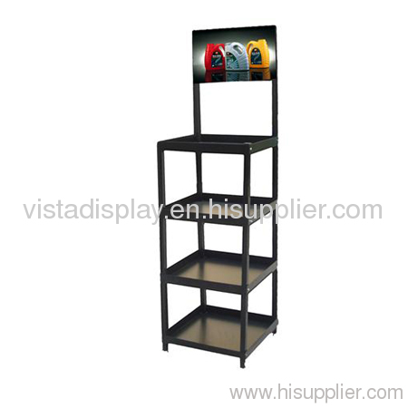 Lubricating Oil Metal Display Rack,dispay shelf