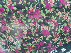 100% polyester chiffon fabric for dress, garment