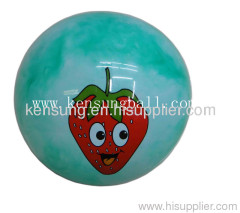toy PVC balls ,inflatable beach ball toy,plastic toy ball,promotional smily PVC ball