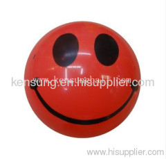 toy PVC balls ,inflatable child ball toy,plastic toy ball,promotional smily PVC ball