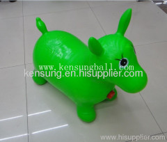 wholesale music inflatable toy ride on kids ride on inflatable animals horse