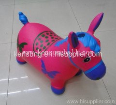 wholesale music inflatable toy ride on kids ride on inflatable animals