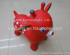 wholesale inflatable toy ride on kids ride on inflatable animals deer