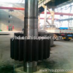 Steel Casting gear shaft