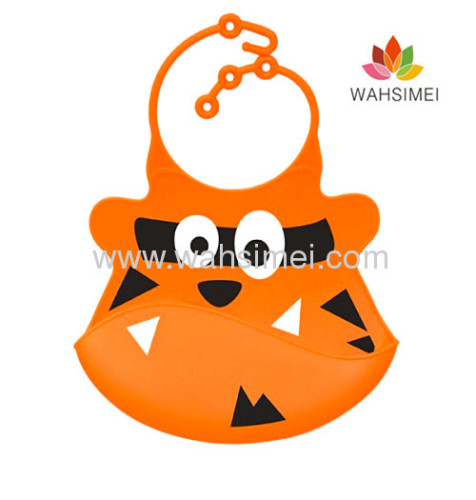 cute and cheap silicone personalized bibs for toddlers