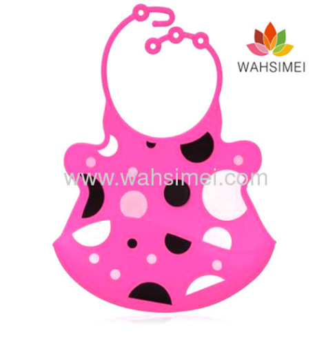 Cute animal silicon bibs for baby