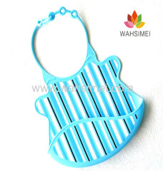 best selling silicone baby bib