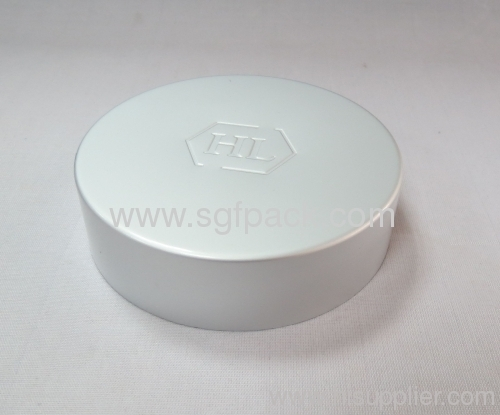 89/400 cap Aluminum cap height 25mm Anodized aluminum cap with plastic inner cap screw cap cosmetic package