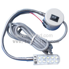 Led machine light with magnetic mount for sewing machine