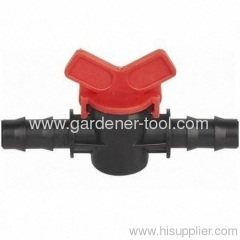 Plastic Mimi ball valve 25MM X 25MM