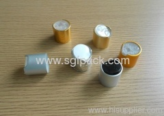 aluminum disc top cap press cap 24410