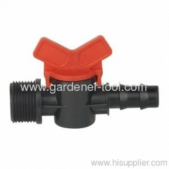 Micro irrigation pipe fitting Φ20mmX3/4