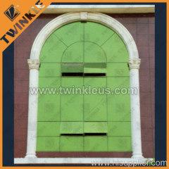 simple stone window frame