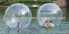 water balls/water walking balls (transparent/colorful water ball)
