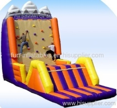 Inflatable climbing wall /inflatable rock climber