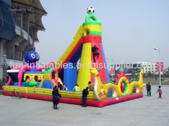 inflatable rock climbing wall / fun city