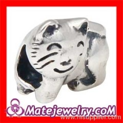 2013 european Cat Charm Beads