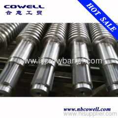 Conical twin screw barrel antiwear grade