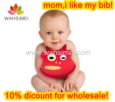 Silicone Infant Bibs For Baby