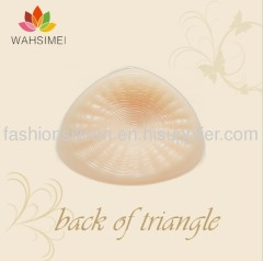 Most comfortable soft triangle silicon breast prosthesis