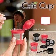 Cafe Cup Reusable Coffee Pod 8PCS