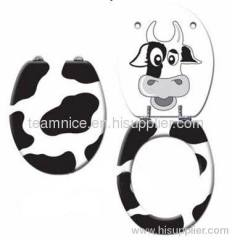 cute animal pictures toilet seat cover