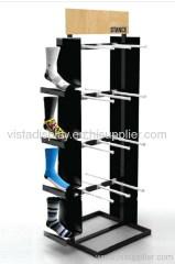 Shoes display rack,metal display stand for socks