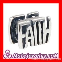 european Sterling Silver Message Beads