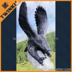 Huge garden decotative stone eagle
