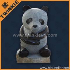 black marble garden decorative animal statue