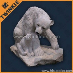 Huge granite decorative animal statue