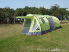 Large family tent with high top