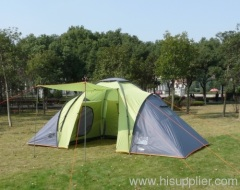 3 Rooms large family tent for 6person