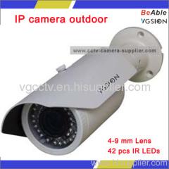 2.0 Megapixel Outdoor Varifocal IP Camera