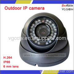 720P Mega pixel Outdoor IR IP camera