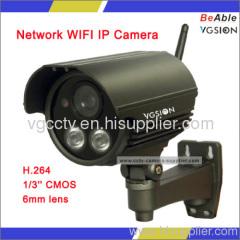 2.0 Mega pixel Network WIFI IR Camera