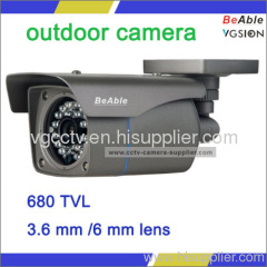 IR distance 25 meters fixed lens outdoor camera