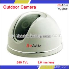 Delicated Plastic Dome Camera