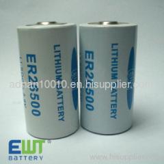ER26500 3.6 v lithium battery 8500mAh