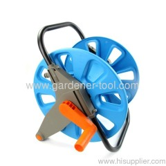 Plastic portable garden hose reel for 1/2