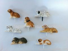 Iphone wood cute animal dustproof plug
