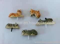 handmade animal earphone dustproof plug